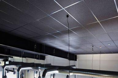 Black akustik panel